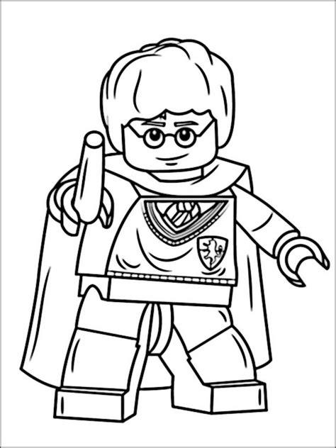 disegni da colorare harry potter lego disegni da stare lego harry potter 7