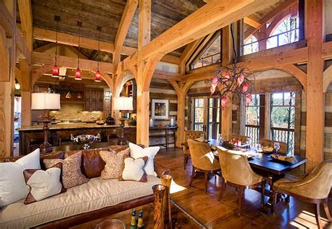 spectacular open concept homes 33 stunning log home designs photographs