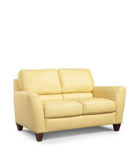 Macy S Loveseat by Almafi Leather Loveseat Furniture Macy S