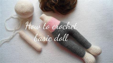 crochet basic doll youtube