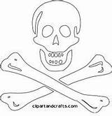 Coloring Pirate Skull Adult Bones Pirates Printable Maulwurf Crossed Symbol Malvorlagen Ship sketch template