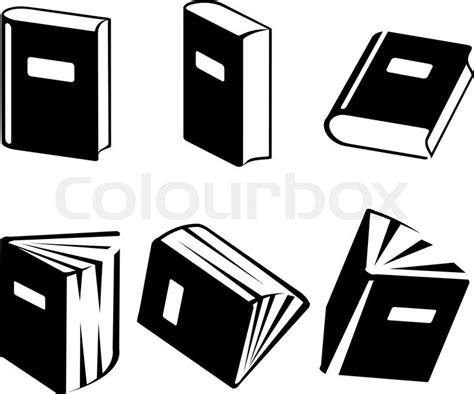 buch icons vektorgrafik colourbox