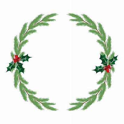 Wreath Transparent Svg Icon Corona Navidad Holly