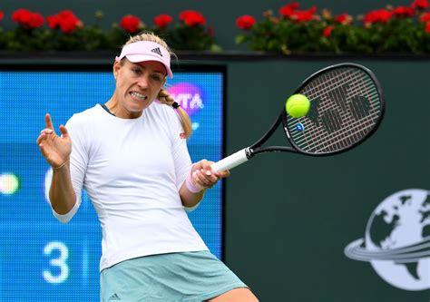 Angie kerber hat für die kampagne #moveyourself viele sportarten ausprobiert und zwar mit vergnügen. Kerber overcomes qualifier to reach Indian Wells 4th round ...