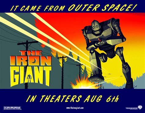 Image - Iron giant two sheet poster.jpg   Iron Giant Wiki