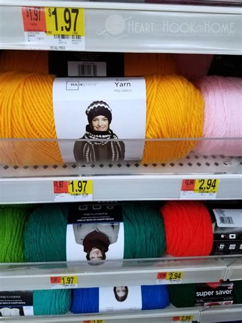 walmart yarn colors a review of walmart s new mainstays yarn brand
