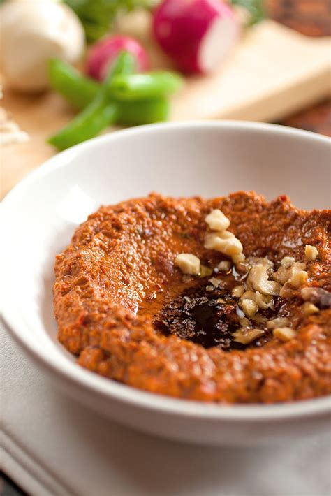 muhammara red pepper  walnut spread recipe nyt cooking