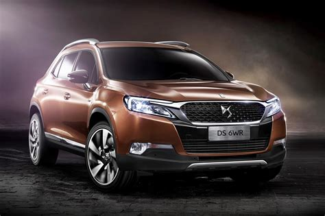 What is the difference between a compact suv and a. Citroën's Luxury Brand DS Confirms 6WR SUV For Beijing ...