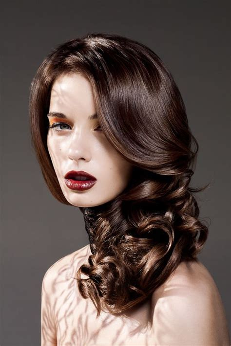 Rich Glossy Brown Hair by Beautiful Brown Hair Colors And Colors On
