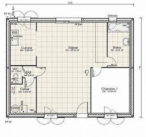 emejing plan salle de bain 4m2 pictures amazing house With plan salle de bain 4m2