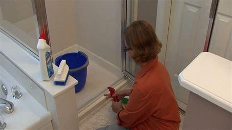 shower tub doors bathroom cleaning tips how to clean shower door tracks