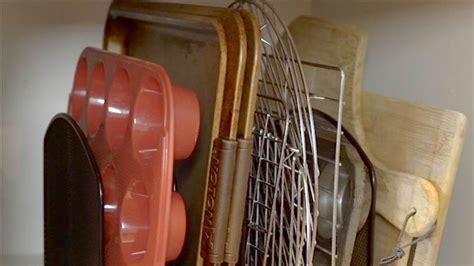 baking sheets cookie sheet storage organize racks today cooling cutting boards diy need