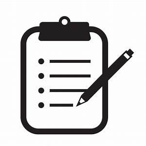 Clipboard, notes, pen, pencil icon | Icon search engine