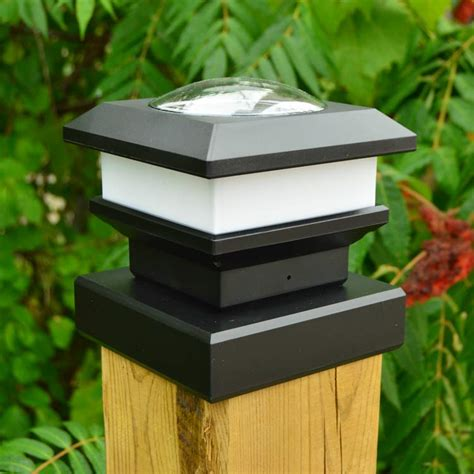 pcl 6x6 solar post cap light 6x6 fence post solar light