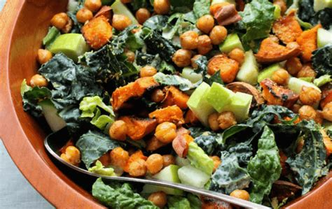 chickpea caesar salad blue zones