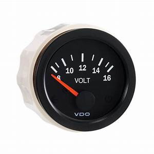 Vdo 8-16v Voltage Gauge