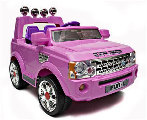 12v Cute Pink Range Rover Style Kids 4x4 Car 199 95