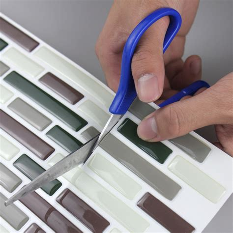 Peel And Stick Subway Tiles Australia by 3d Adhesive Faux Tile Vinyl Peel And Stick Tiles Subway