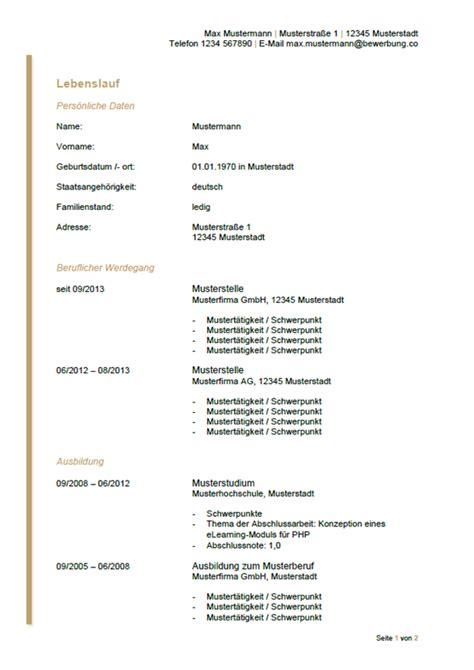 Vordruck Lebenslauf Für Bewerbung by Tabellarischer Lebenslauf F 252 R Sch 252 Ler Azubiyo