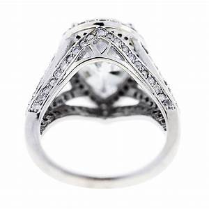 white gold pear shaped diamond halo style pave engagement ring With wedding rings halo style