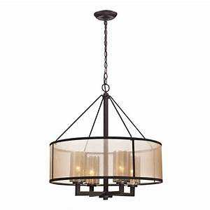 shop westmore lighting sandbar 24 in 4 light oil rubbed With 4 light chandelier table lamp