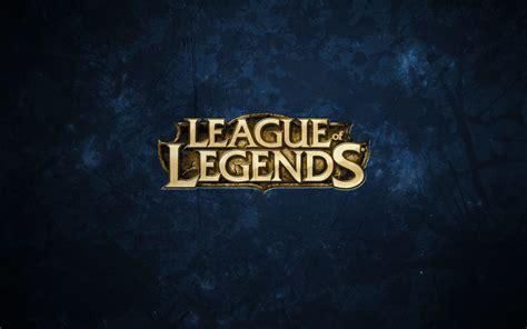 League Of Legends Logo Wallpaper