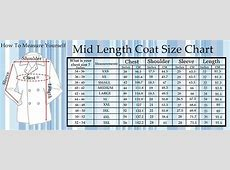 Size Charts Super Hero Jackets, Movies Jacket & Men