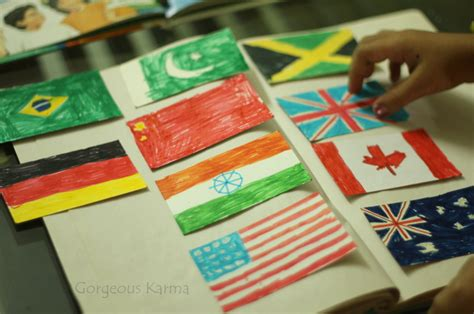 Learning Why Countries Fly Flags! Independence Day Kids
