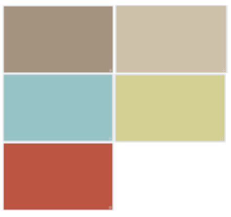 Beige Wandfarbe Farbpalette by Downstairs Paint Color Palette Benjamin Alexandria