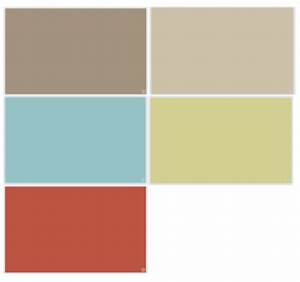 Downstairs, Paint, Color, Palette, Benjamin, Moore, Alexandria