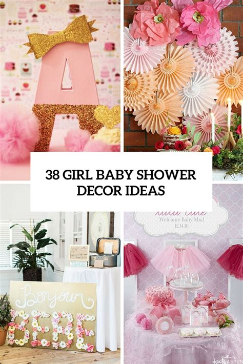 baby shower ideas for to be 38 adorable girl baby shower decor ideas you ll like