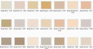 le trombi des couleurs la seigneurie ancolies With nuancier peinture couleur beige 13 le bureau