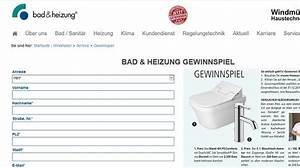 Bad Und Heizung : bad und heizung gewinnspiel badausstattung und gutscheine ~ A.2002-acura-tl-radio.info Haus und Dekorationen
