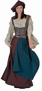 Medieval Peasant Woman Adult Costume Medieval Costumes ...