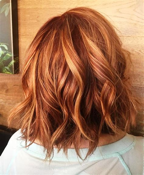 copper hair color  auburn ombre brown amber balayage