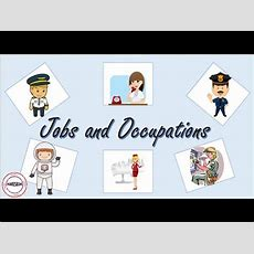 Jobs And Occupations English Vocabulary Youtube