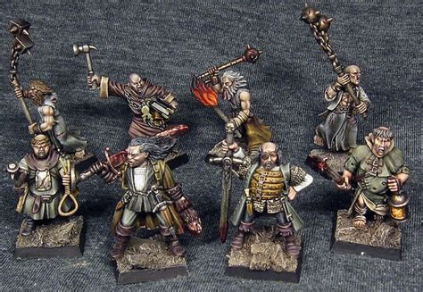 mordheim witch warband hunters miniatures warhammer hunter fantasy empire northern star warbands witches 28mm miniature game tg 40k games figures
