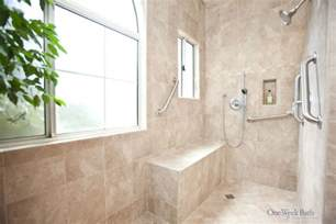 Handicapped Accessible Bathroom Designs Wheelchair Accessible Bathroom By One Week Bathuniversal Design Style