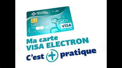 opt carte visa electron