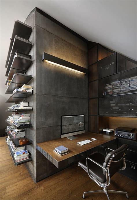 home offices decorados   estilo industrial