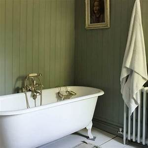 Use tongue and groove panelling relaxed bathroom design for Tongue and groove wall panelling for bathrooms