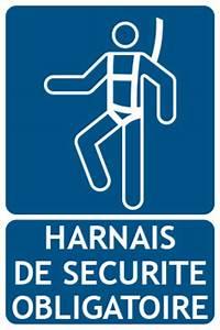 Harnais De Securite Pour Elagage : panneaux d 39 obligation harnais de s curit ~ Edinachiropracticcenter.com Idées de Décoration