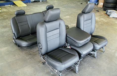 dodge ram leather interior swap