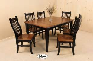 dining set the wood carte real wood furniture amish