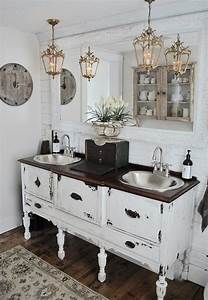 30, Rustic, Bathroom, Vanity, Ideas, That, Are, On, Another, Level