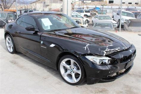 Salvage Cars For Sale by 2012 Bmw Z4 Sdrive28i Salvage Wrecked Repairable For Sale