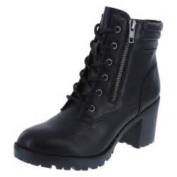 womens boots on sale payless womens punch lug heel lace up boot brash payless shoes