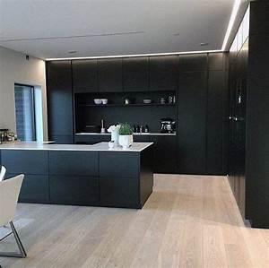 20, Elegant, Black, Kitchen, Design, Ideas, You, Need, To, Try