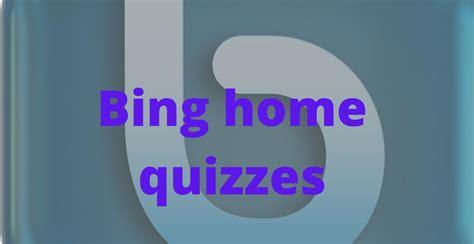 Play The Bing Trends Quiz Bing Update Brings Visual