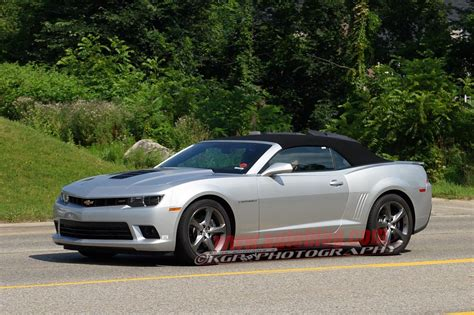 2014 Chevy Camaro Ss Convertible Caught Naked In The Wild